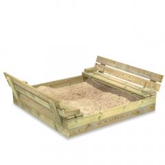 SandSeat Sandkasten mit Klappdeckel